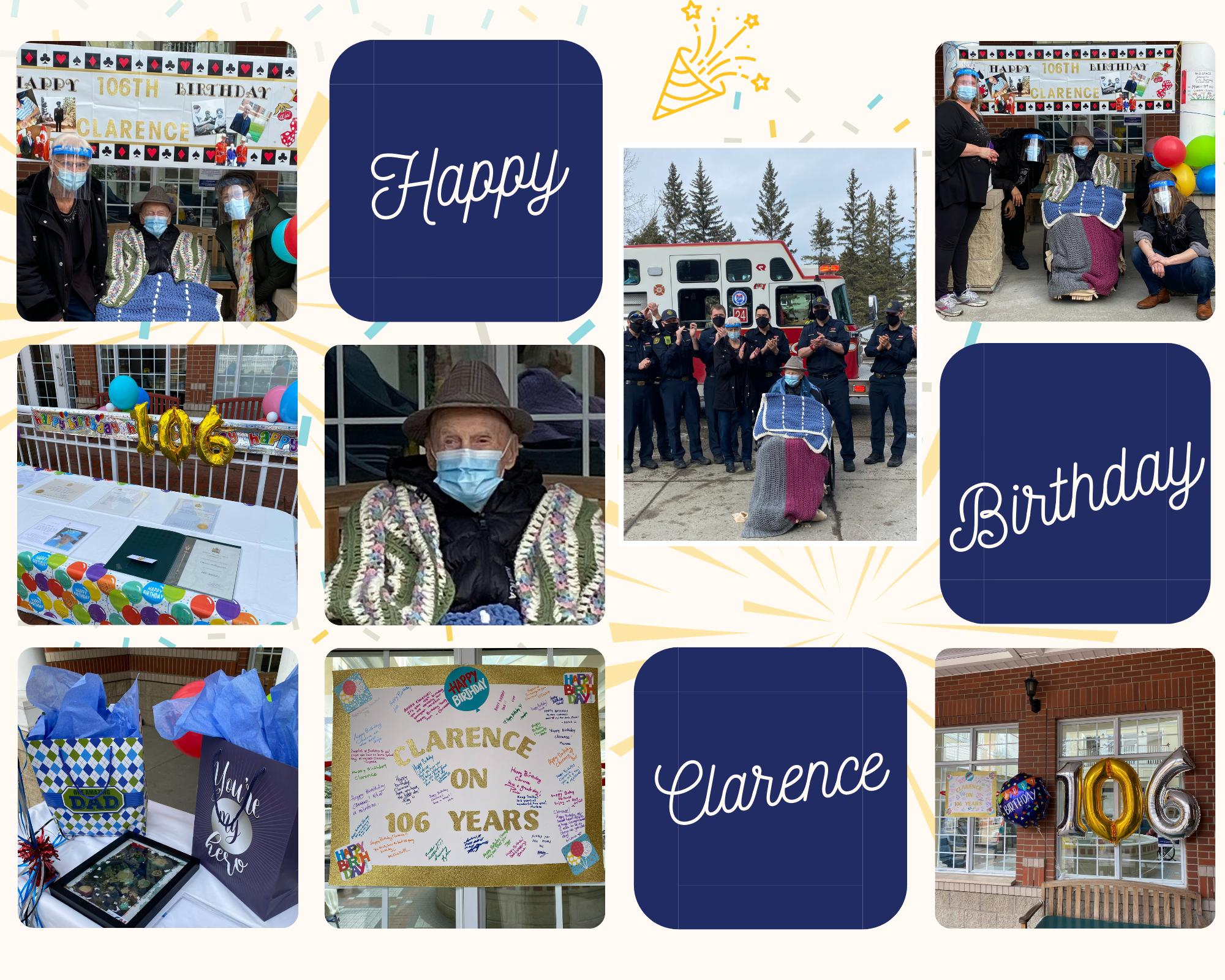 Clarence Birthday Celebration